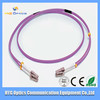 factory LC-LC Duplex Multi mode optical fiber patch cord for FTTH