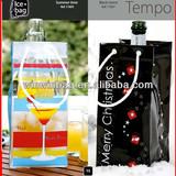 High Quality PVC Leakproof Cooler bag Ice Bag Wine bag disposable cooler bag plastic wine bag ice cream cooler bag wine cooler