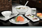 popular jade porcelain of mealmine dinnerware kitchenware for dinner set