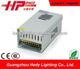 CE RoHS approved 240w 15v rainproof led display power supply manufacturer