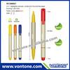 highlighter and ball pen