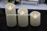 wax body led flicker candle
