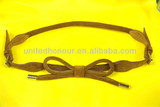 Cow suede belt for female 2014 newest design