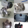 2PC Full Bore Flanged End Ball Valve
