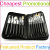 29PCS Quality Wholesale Professional Makeup Brushes With Copper Ferrule And Brush Case