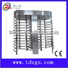 China Mifare access controller automatic full height turnstile/ZK fingerprint access control turnstile