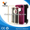 3 in 1 colorful silicone phone cover factory price for iphone5