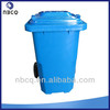 120L outdoor plastic dustbin in different color