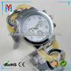 Japan movement quartz movement silicone wrist watch