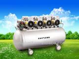 good quality large dental compressor for 10 units