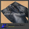 Grey+Indigo Raw denim fabric for men's jeans