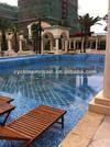 Mosaic arts, swimming pool tiles