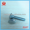 Zinc-plated carriage bolts