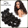 Natural Hair Products 2014 Factory Price Wholesale Grade 5A Beautiful Loose Wave Virgin Brazilian Hair Weave