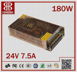 Constant voltage IP20 led power supply 24v 180w