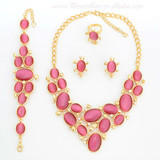 Wholesale Jewelry set Supplies China Candy Fashion Gemstone Necklace Chain A322