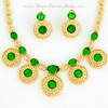 2014 Hot Selling Products Resin Gemstone Necklaces Jewelry set Accessory A065