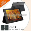 new products 2014 leather case for Sony xperia Z2 tablet