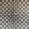 double color white and brown stone mosaic tile for home wall hall or kitchen or bathroom graceful decoration