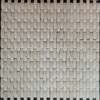arched chips stone mosaic ivory color rough surface marble mosaic tile for kitchen or bath room hall etc.
