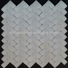 New arrive hot sales!!! wall decoration arch irregular white stone marble mosaic WS004