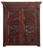 carved wooden doors (new Middle East design 2012)