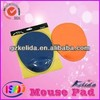 Popular new blank colored mouse mat with wrist rest