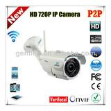Gentlen Onvif HD 720P 1.0MP P2P IR Waterproof IP mini wifi network camera
