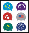 Rubber swim cap,waterproof swim cap custom logo swim cap