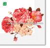 flower color printed paper napkin Dinner Napkins