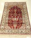 nanyang nanzhao turkish decorative hand knotted silk rug carpet