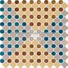 2013NEW High class JNJ mosaic pattern glass mosaic tile
