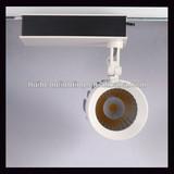 Gallery 20w 30w 40w LED Track Light Spot COB 3wire High CRI Aluminium Light Fixture 2100lm