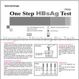 one step hepatitis home testing elisa testleri kits
