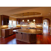High quality high gloss wood veneer kitchen cabinet