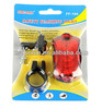 Display 2 laser line animated led hot wheel bicycle light coloful motorcycle auto light