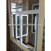 White Color Frame With Transparent Glass For Replacement Aluminum Windows