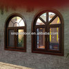 2014 New Design Aluminum Commercial Window With Arch