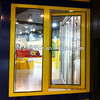 2013 Hot Sale Golden Color Aluminum Casement Windows