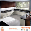 New model lacquer and melamine kitchen cabinet color combinations for modern kitchen furniture