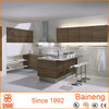 melamine veneer new model kitchen cabinets direct from china