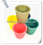 Colorful soft unbreakable Silicone rubber drinking coffee mugs