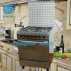 portable 4 burners gas cooker with oven