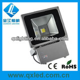 All power available Bridgelux COB outdoor led flood light 80W