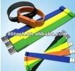 Special gift, soft PVC/silicone wristband/bracelet USB flash drive, memory stick