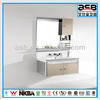 fashionable stainless steel bathroom mirror cabinet ASB-8216 with quality LED light
