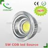 CE Rosh UL ETL 5W gu 5.3 led spotlight dimmable