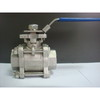 Stainless Steel 3PC Ball Valve with ISO5211 Pad