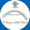 ul 797 listed Steel EMT conduit elbow 90 degree 1/2''-4''