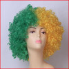 2014 The World Cup fan's wig Afro Men Lady Wigs National flag fans wig Synthetic Hair Halloween Carnival Wigs